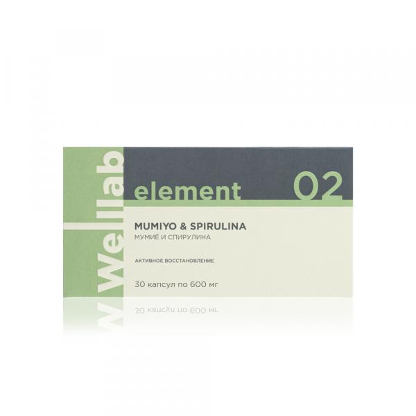 Адаптогенный и общеукрепляющий комплекс Welllab Element Mumiyo