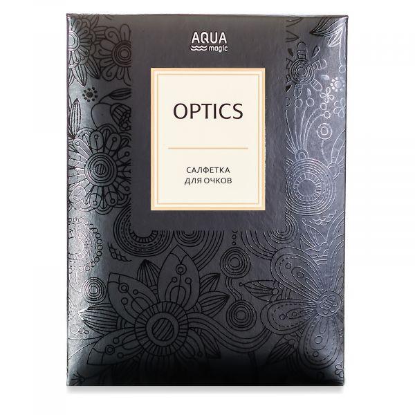 Aquamagic Optics салфетка для очков (слоновая кость)