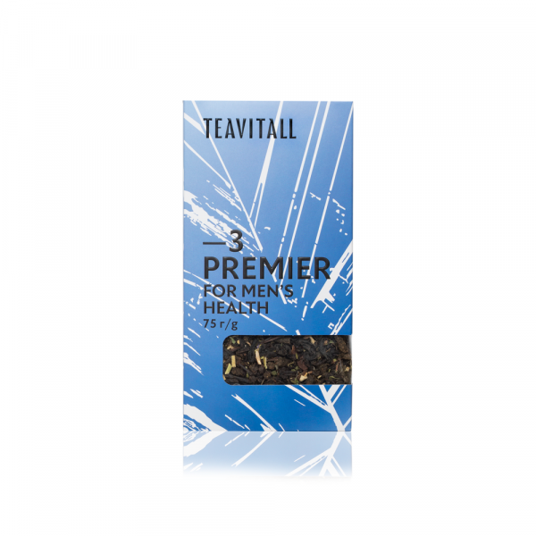 Чайный напиток для мужского здоровья TeaVitall Express Premier 3 (75 г)