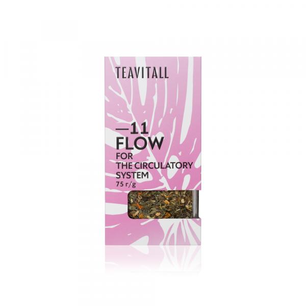 Чайный напиток для укрепления кровеносной системы TeaVitall Express Flow 11 (75 г)