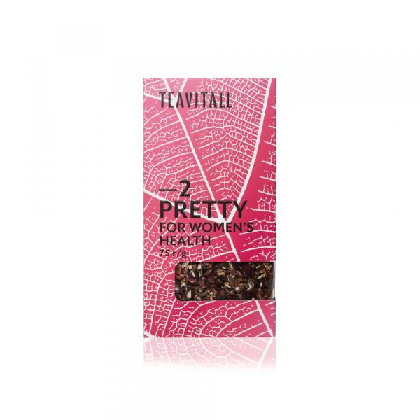 Чайный напиток для женского здоровья TeaVitall Express Pretty 2 (75 г)