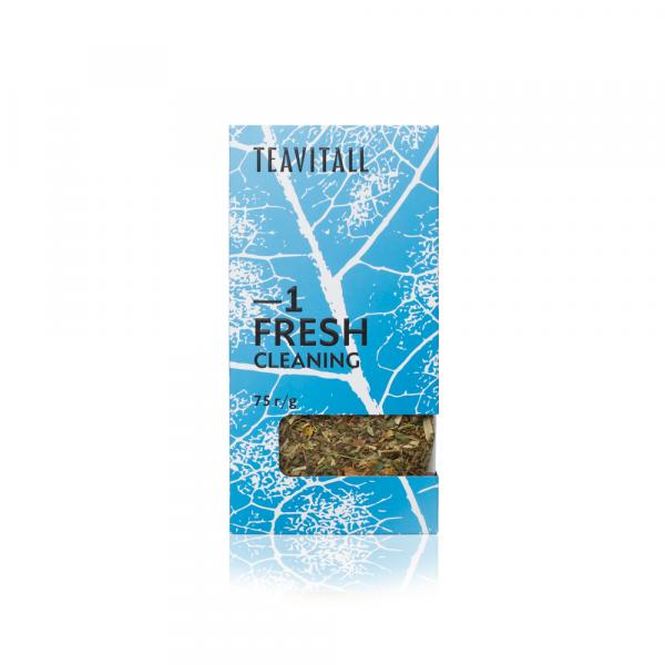 Чайный напиток очищающий TeaVitall Express Fresh 1 (75 г)