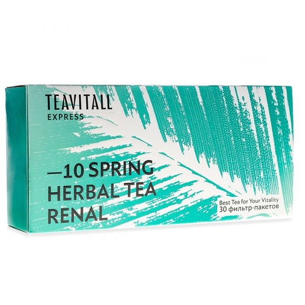 Чайный напиток почечный TeaVitall Express Spring 10