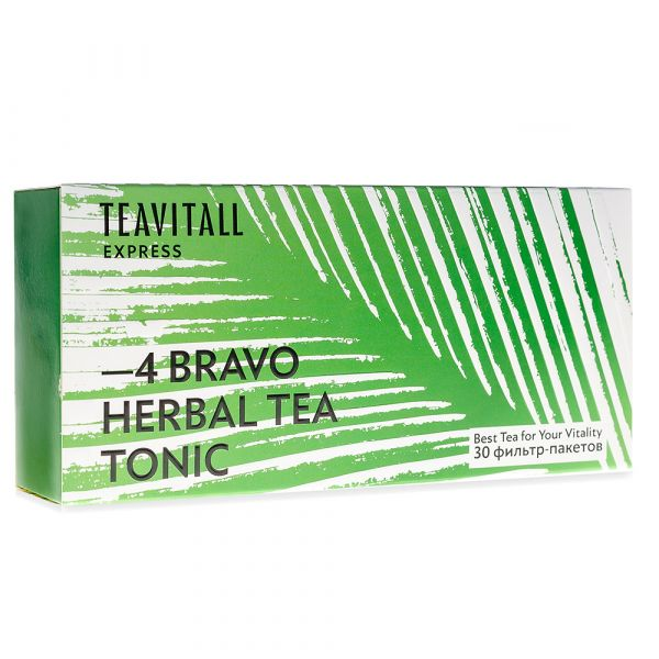 Чайный напиток тонизирующий TeaVitall Express Bravo 4