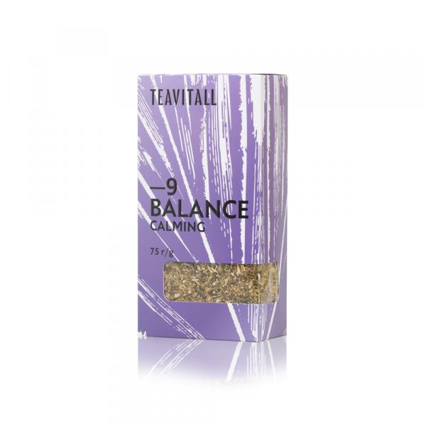 Чайный напиток успокаивающий TeaVitall Express Balance 9 (75 г)