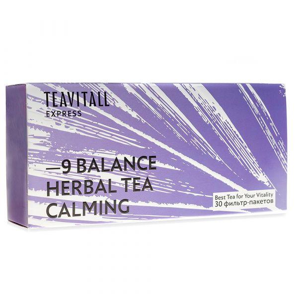 Чайный напиток успокаивающий TeaVitall Express Balance 9