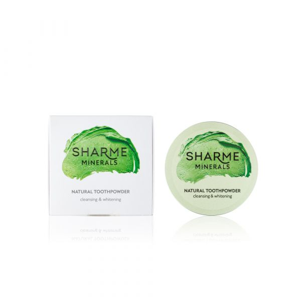 """Фитоминеральный зубной порошок """"Очищение и Отбеливание"""" Sharme Minerals"""