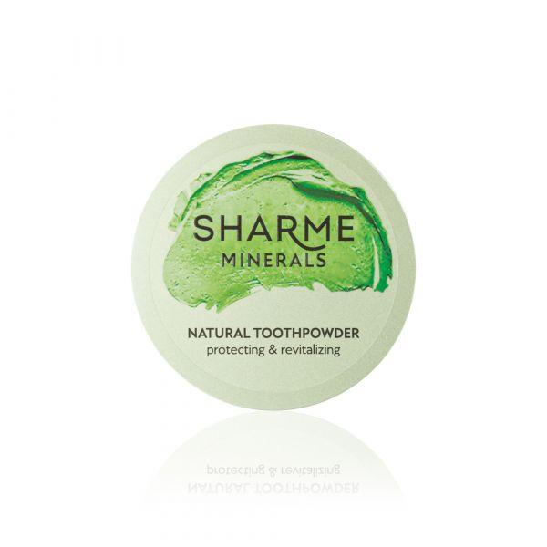 """Фитоминеральный зубной порошок """"Защита и Восстановление"""" Sharme Minerals"""