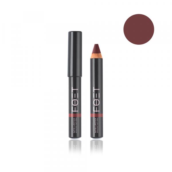 Foet Сатиновая помада/ Satin Lipstick Изумительный натуральный