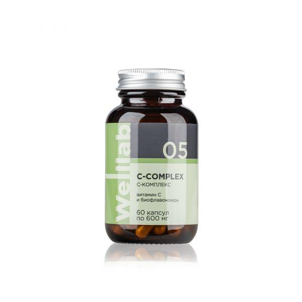 Источник витамина С Welllab C-COMPLEX