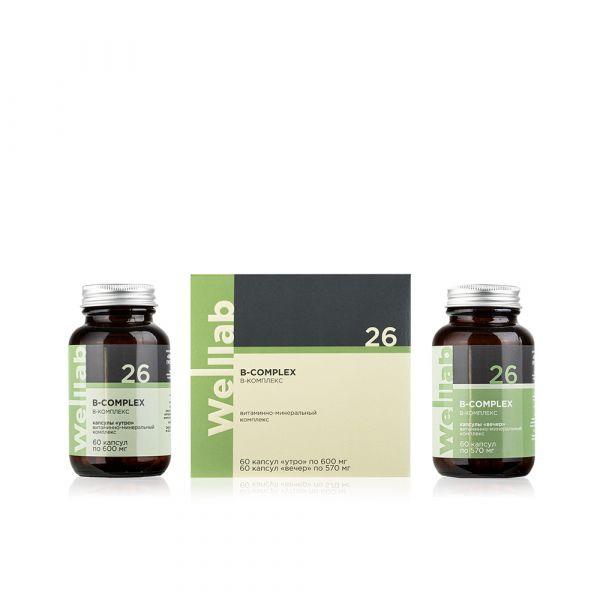Источник витаминов группы В Welllab B-complex