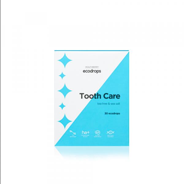 Леденцы для ухода за полостью рта Healthberry Ecodrops Tooth Care (30 шт)