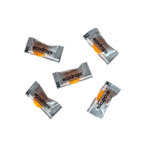 Леденцы для защиты организма от простуды Healthberry Ecodrops Curcumin