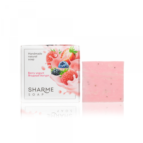 Мыло SHARME SOAP Ягодный йогурт