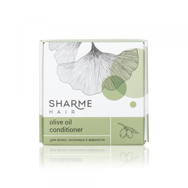 Натуральный твердый кондиционер Sharme Hair Olive Oil (оливковое масло)