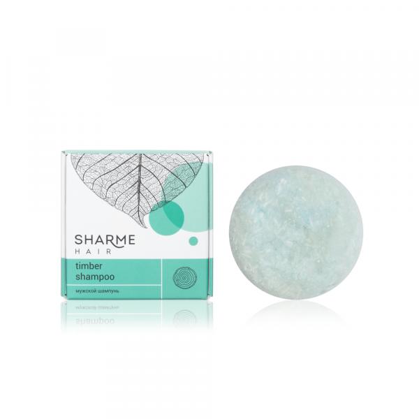 Натуральный твердый шампунь Sharme Hair Timber (древесный)