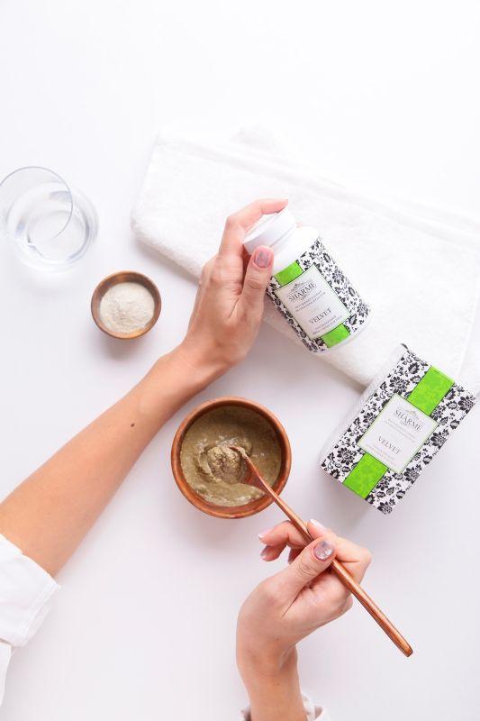 Обновляющий крем-скраб для тела Sharme Velvet