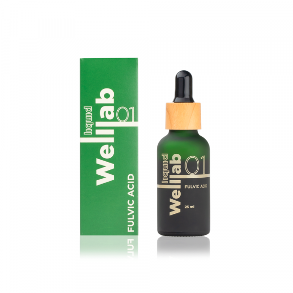 Природный концентрат фульвовых кислот Welllab liquid Fulvic acid