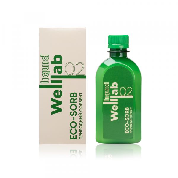 Природный сорбент Welllab liquid ECO-SORB