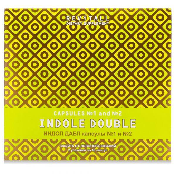 Источник индолов для поддержки здоровья репродуктивных органов Revitall INDOLE DOUBLE