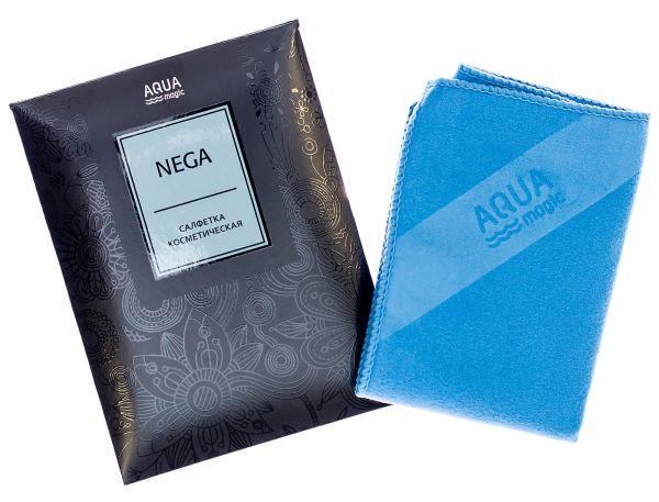 Салфетка Aquamagic Nega косметическая голубая
