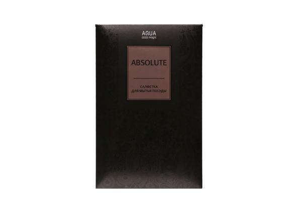 Салфетка для посуды Aquamagic Absolute графитовая