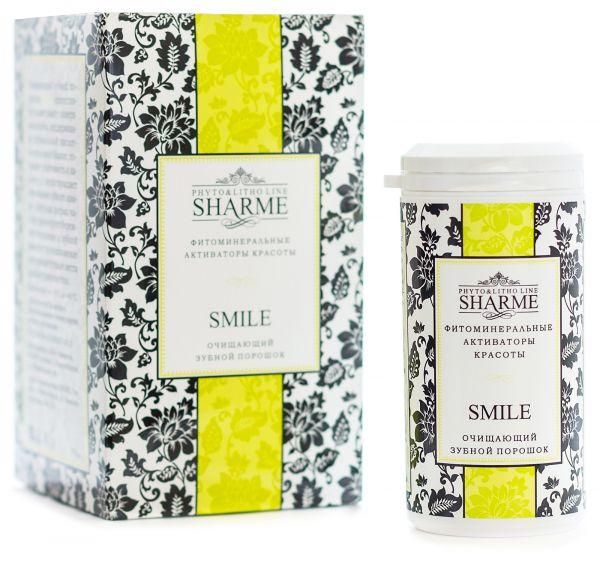 Sharme Smile / Очищающий зубной порошок